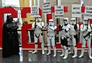 Picture of the Day: Meanwhile at the Stormtrooper Protest