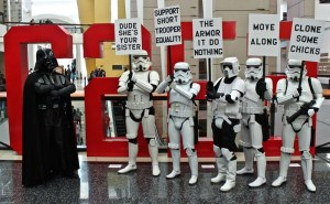 stormtrooper protest rally funny stormtrooper protest rally funny