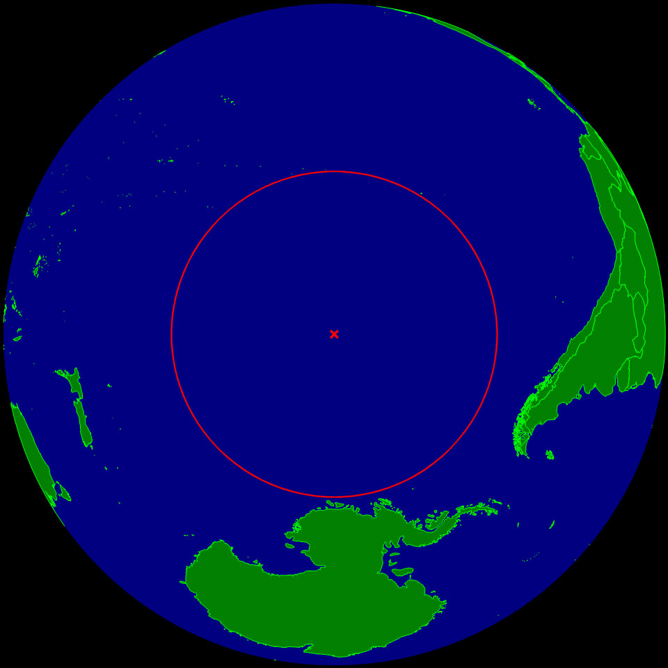 the furthest point on earth from land 32 Maps That Will Teach You Something New About the World