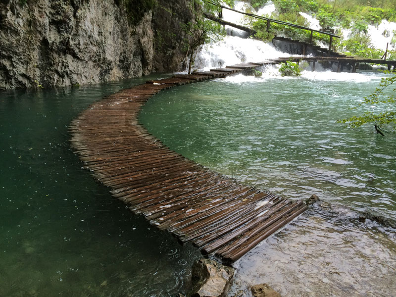 water walkway plitvice lakes national park croatia The Top 100 Pictures of the Day for 2015