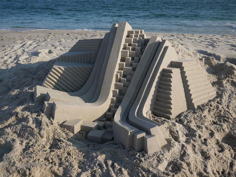 architectural sand castles by calvin seibert (4)