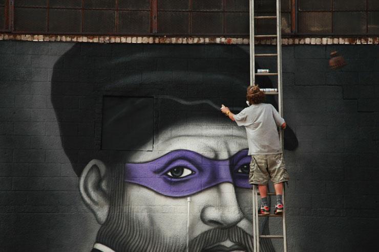 brooklyn street art owen dippie jaime rojo 3 Teenage Mutant Ninja Renaissance Turtles