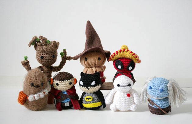 comic-con crochet critters by geeky hooker (14)