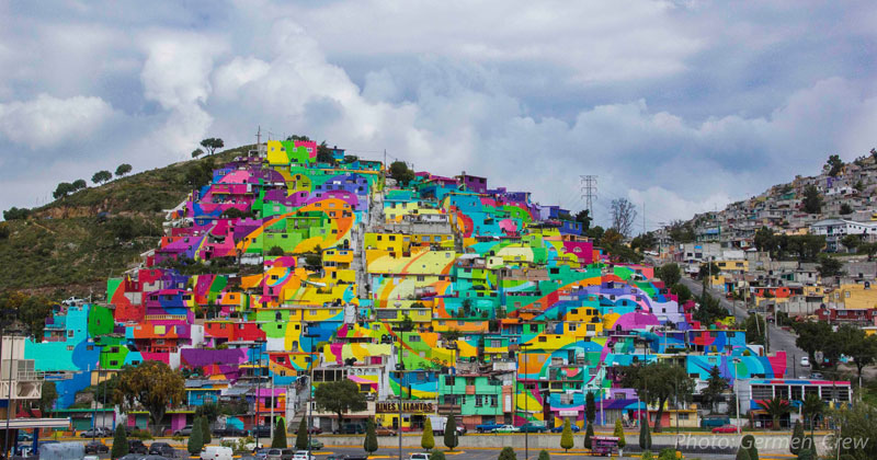 Community Unites Over Street Art Project to Paint All of Their Houses