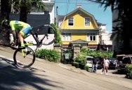 Vittorio Brumotti Goes Freestyle Biking with a Road Bike