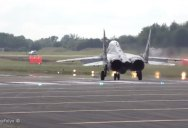Watch This MiG-29 Do A Vertical Takeoff