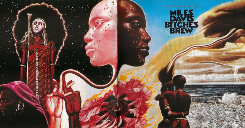 miles davis bitches brew album cover