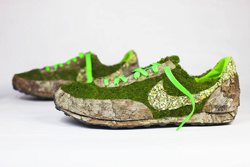 nike shoes made out of plants chrstophe guinet monsieur plant (10)