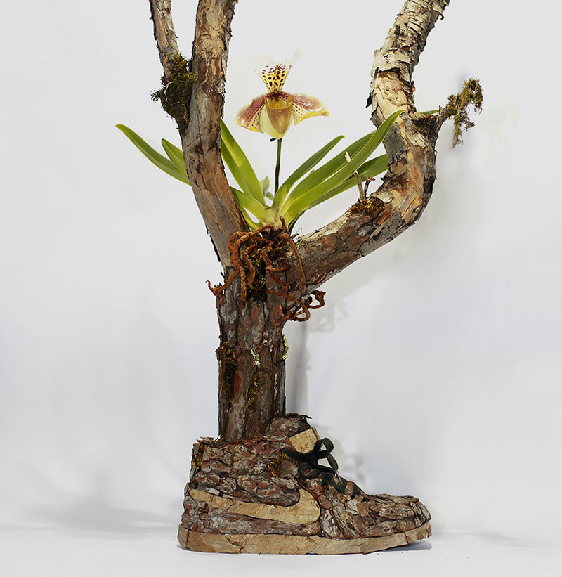 nike shoes made out of plants chrstophe guinet monsieur plant (2)