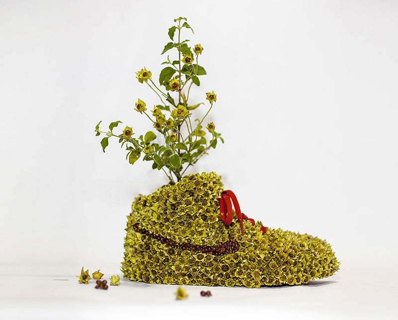 nike shoes made out of plants chrstophe guinet monsieur plant (4)