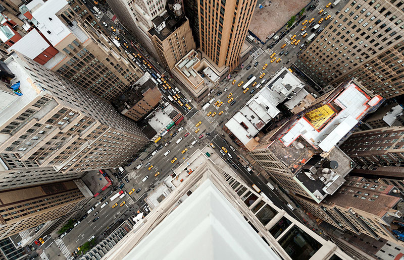 nyc streets from above by navid baraty (1)