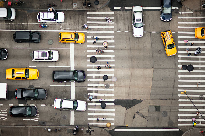 nyc streets from above by navid baraty (2)