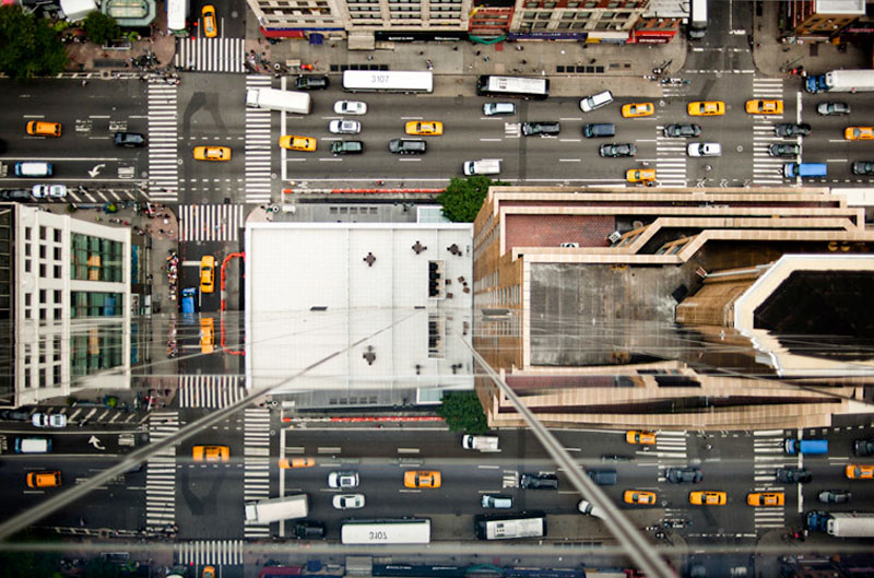nyc streets from above by navid baraty (4)