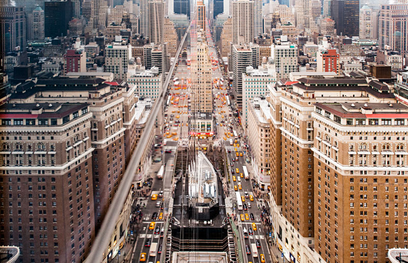 nyc streets from above by navid baraty (5)