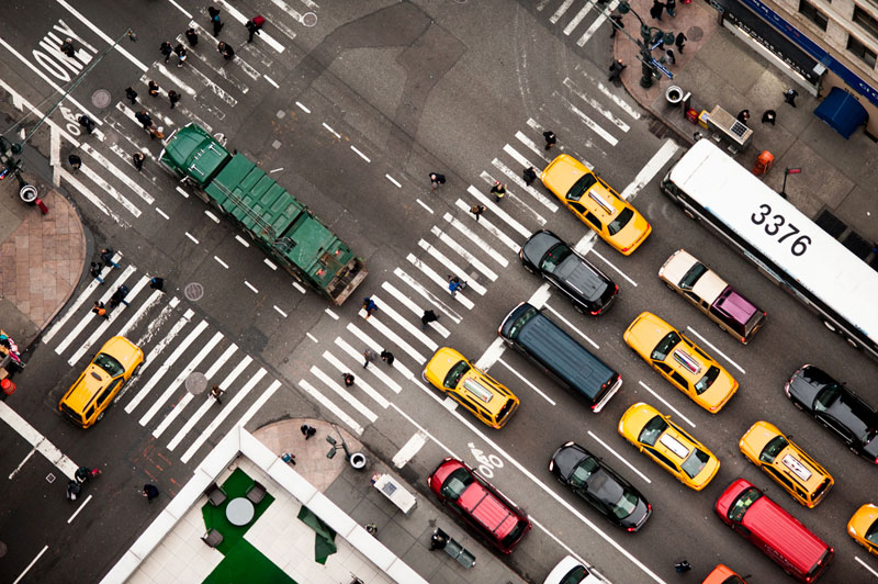 nyc streets from above by navid baraty (6)