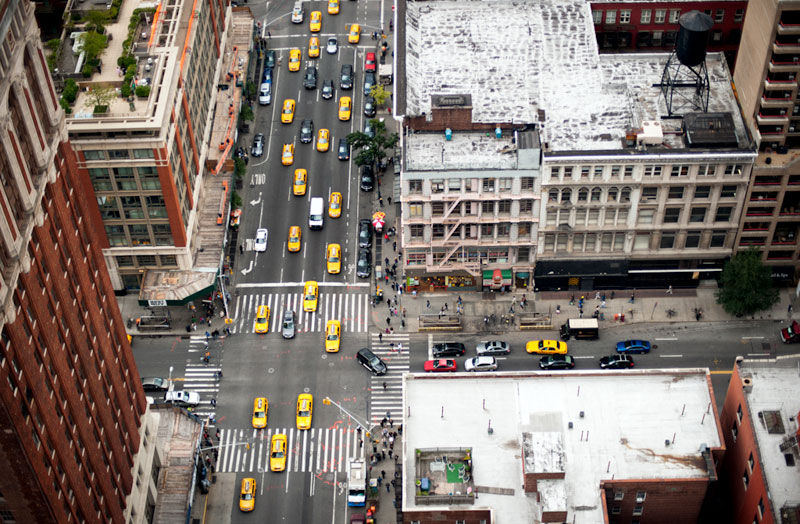 nyc streets from above by navid baraty (7)