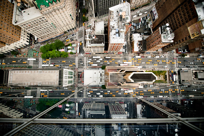 nyc streets from above by navid baraty (8)