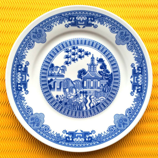 Porcelain Plate designs Show World of Destruction by don moyer calamityware (3)