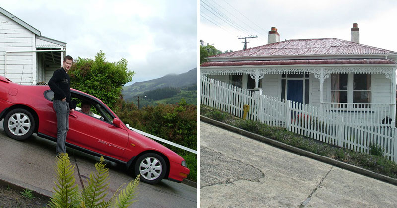 Welcome to Baldwin, the Steepest Residential Street in the World