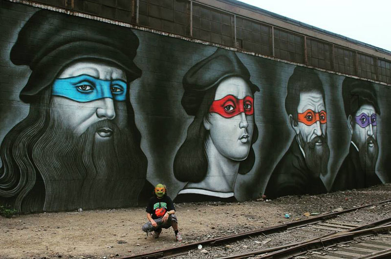 teenage mutant ninja renaissance turtles by owen dippie