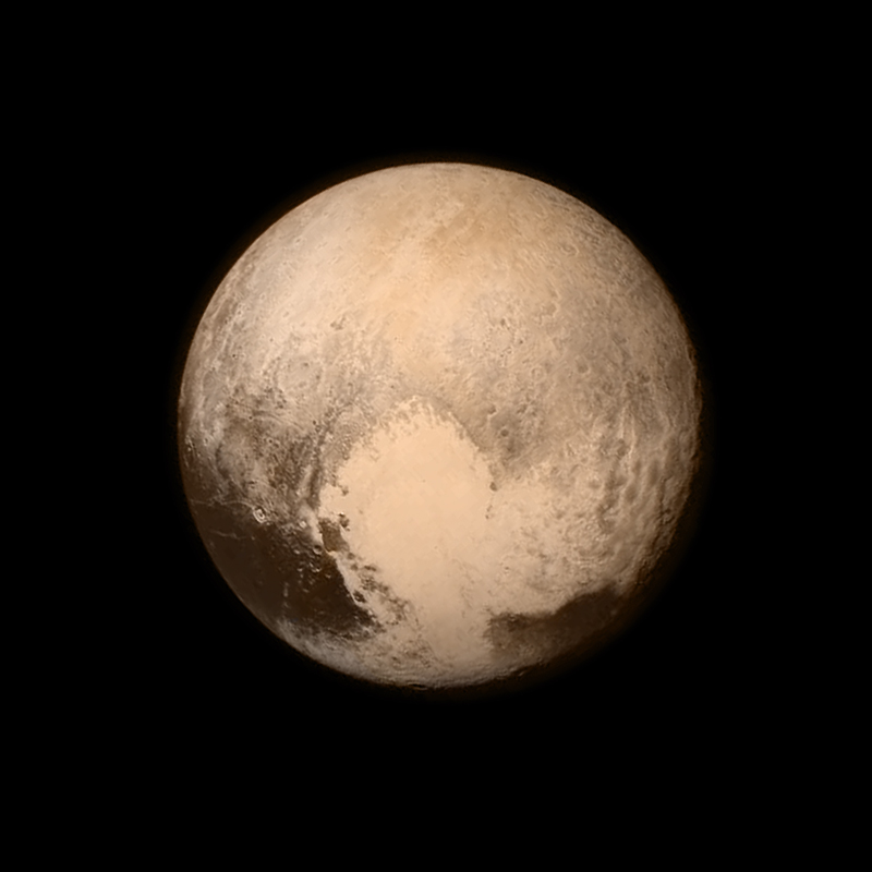The Clearest Photo of Pluto Yet