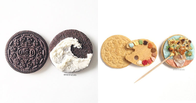 These are the Creme de la Creme of Oreo Art