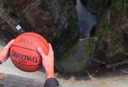 Watch What Happens When You Give This Ball a Little Backspin
