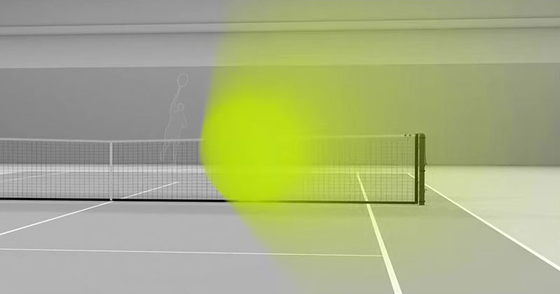 What It's Like to Return a 150 MPH Serve