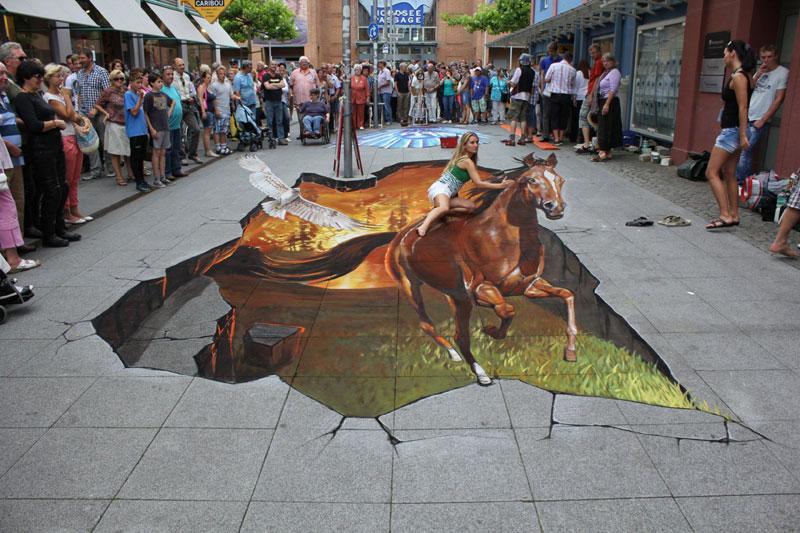 3D Sidewalk Paintings by Nikolaj Arndt (1)