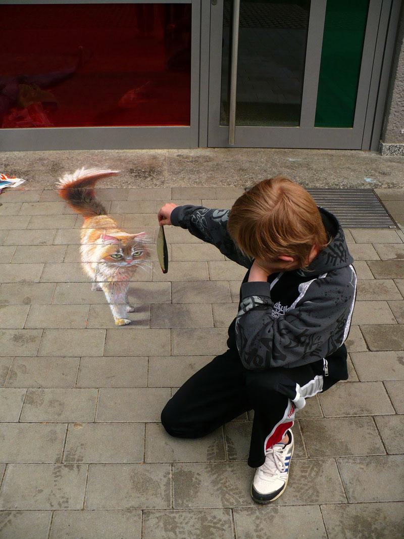 3D Sidewalk Paintings by Nikolaj Arndt (10)