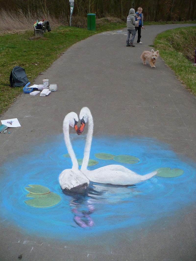 3D Sidewalk Paintings by Nikolaj Arndt (11)