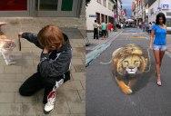 3D Sidewalk Paintings by Nikolaj Arndt