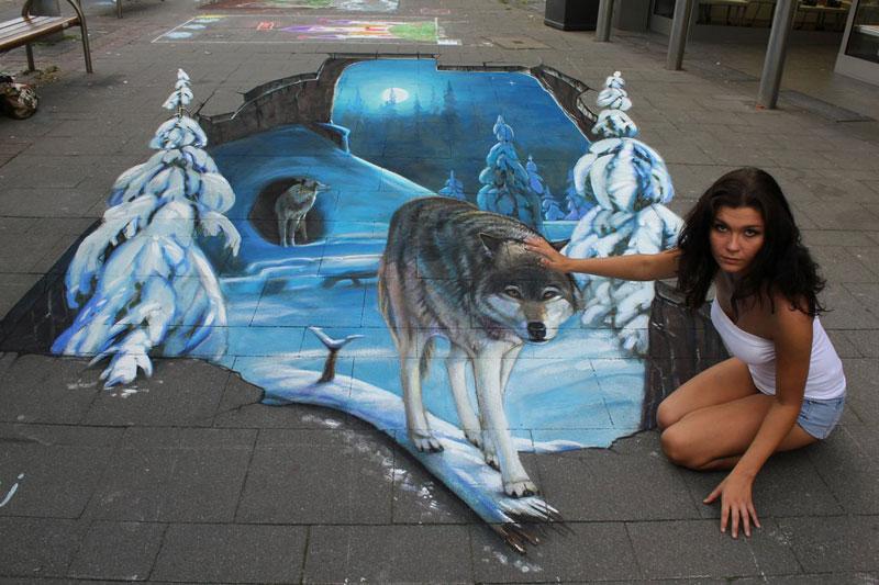 3D Sidewalk Paintings by Nikolaj Arndt (2)