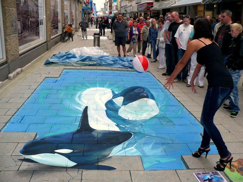 3D Sidewalk Paintings by Nikolaj Arndt (8)