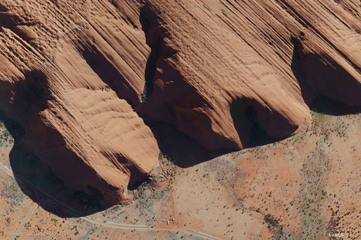 ayers rock australia Earth View: A Curated Collection of 1500 Google Earth Wallpapers