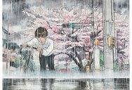 Bicycle Boy Watercolor Series Inspired by Studio Ghibli