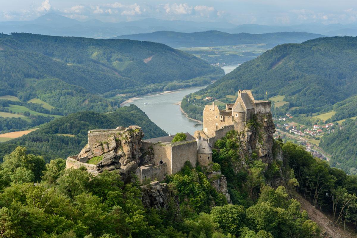 Castle ruins of Aggstein, Wachau, Lower Austria