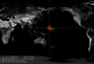 A Chilling Visualization of Every Nuclear Detonation from 1945 to Present