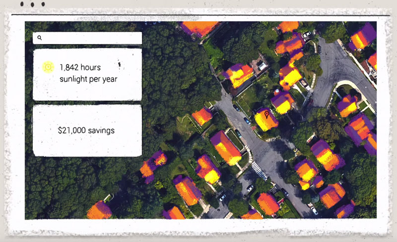Project Sunroof Uses Google Maps to Measure Your Roof's Solar Income Potential