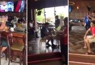 Guy Plays Dr Dre Piano Mashup at a Random Bar in Arizona
