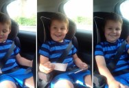 5 Year Old Reacts to Becoming a Big Brother