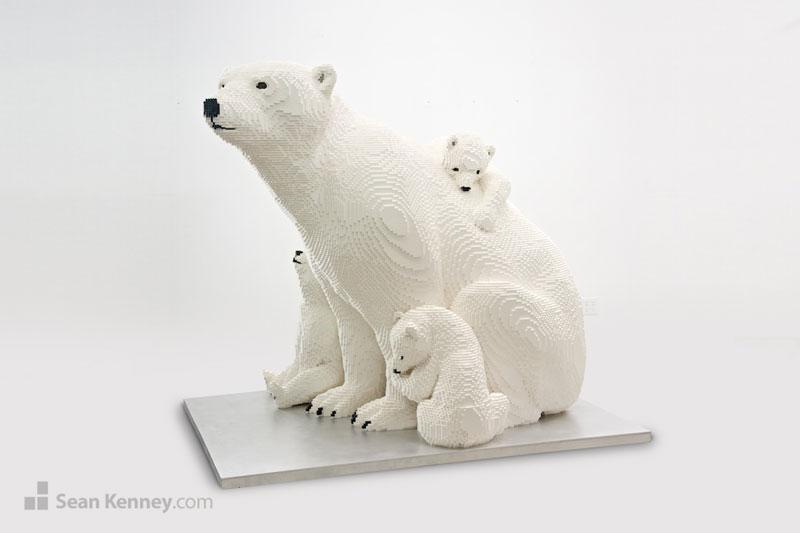 lego animal sculptures by sean kenney (7)