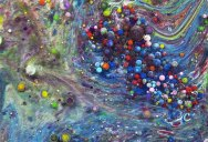 Artist Mixes Liquids to Portray How Emotions Blend and Ease