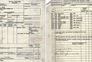 When Buzz Aldrin Returned from the Moon He Had to Fill Out a Customs Form