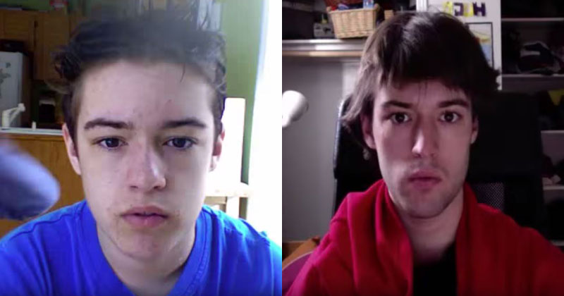 Guy Takes Selfie Every Day for 8 Years from Age 12 – 20