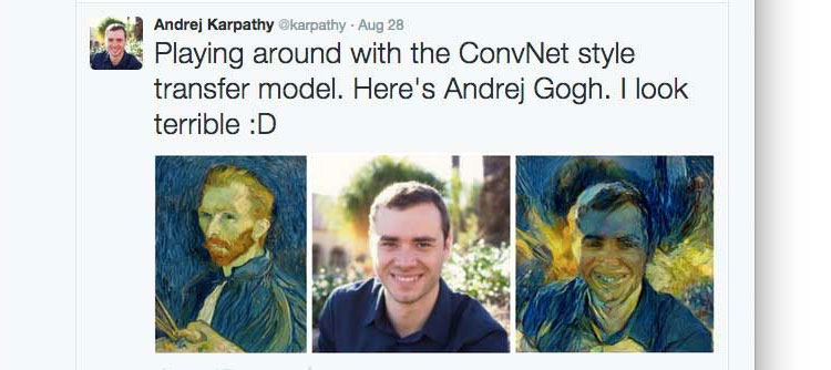 Algorithm Turns Your Photos Into the Style of a Famous Painting (2)