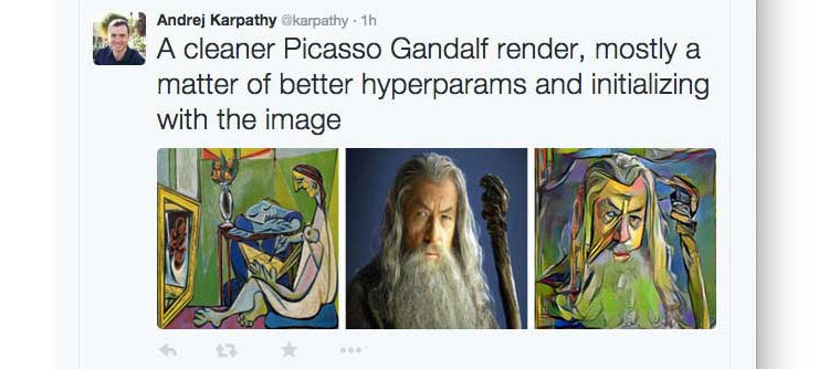 Algorithm Turns Your Photos Into the Style of a Famous Painting (5)