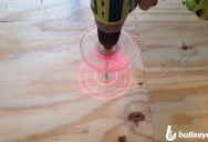Using Lasers to Tell If You're Drilling Straight