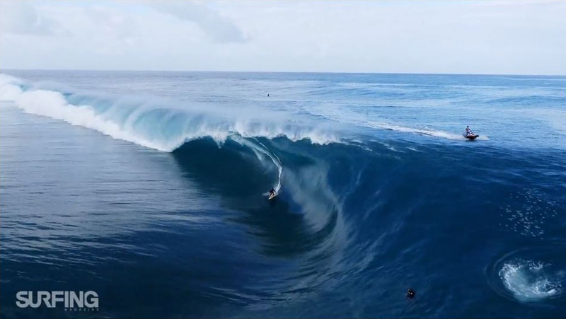 Drones and Surfing Go Together Like Peanut Butter and Jam