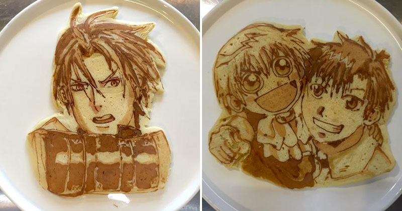 Ricetta Japanese Pancakes.There S A Restaurant In Japan That Makes Amazing Pancake Art Twistedsifter